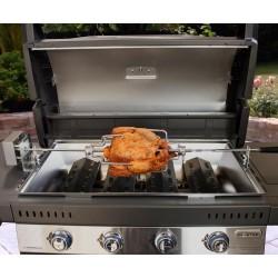 Kit de asador de pollos eléctrico premium barbacoa Campingaz