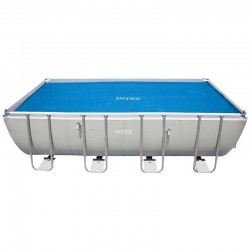Cubierta solar piscina Frame rectangular Intex
