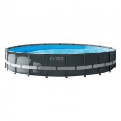 Piscina desmontable redonda Ultra Frame 427x107 con depuradora Intex 26310NP