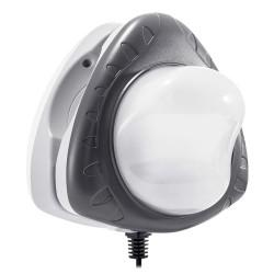 Luz LED 4 colores magnética para piscinas desmontables Intex