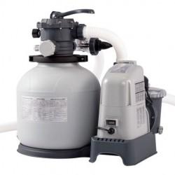 Combo Intex depuradora arena y cloración salina Eco 7 gr - 32.200l