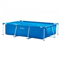Piscina desmontable tubular Small Frame rectangular 450x220x84 Intex 28273NP