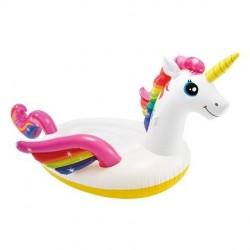 Unicornio hinchable gigante Intex 422x373x185