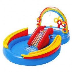 Centro de juegos hinchable Ocean Play con tobogán Intex 57454NP