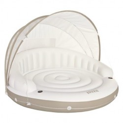 Isla hinchable Canopy crema 199X150 Intex 58292EU