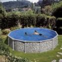 Piscinas Redondas Piedra - Altura 132 cm