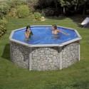 Recambios Piscinas Redondas Piedra 120 cm - 460x120 KIT460P