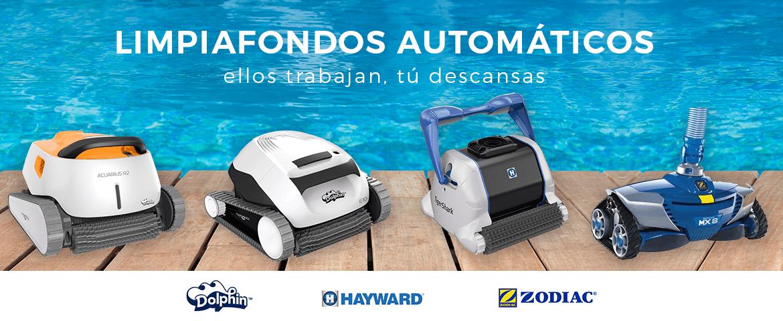 Limpiafondos automáticos para piscina robots limpiafondos hidráulicos